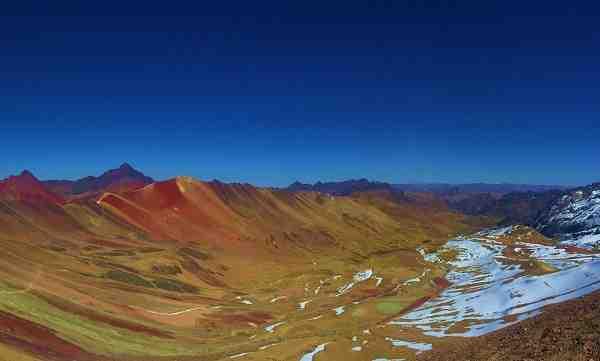 como llegar a la montana de siete colores