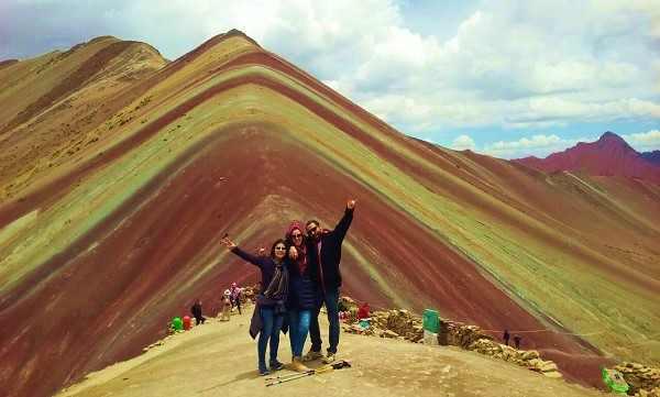 montañas de los 7 colores