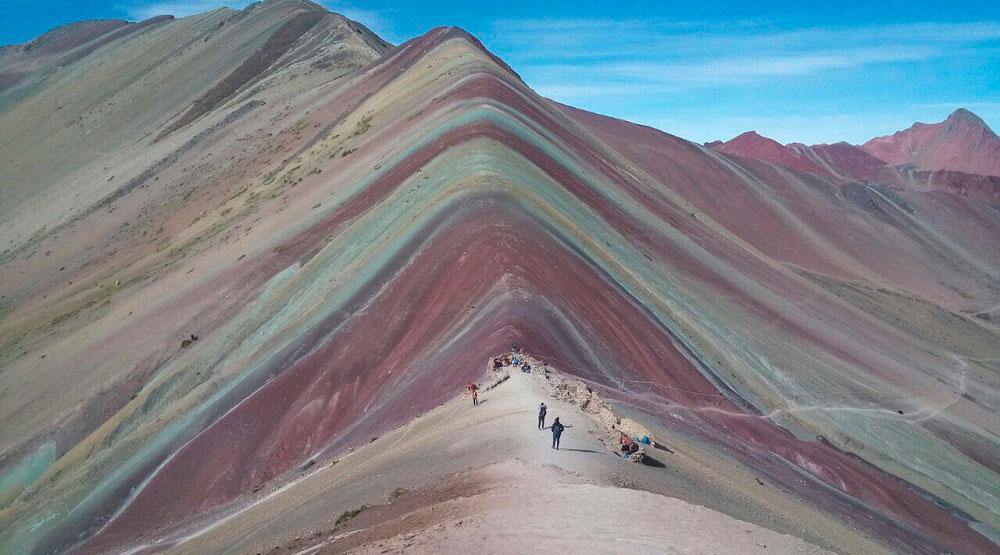Montaña de siete colores, Vinicunca