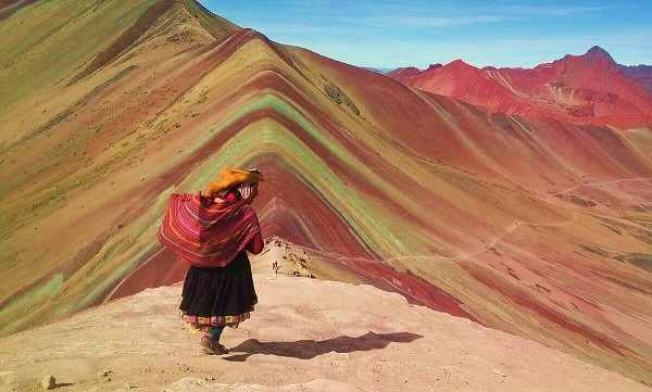 Conozca a la Montaña de siete Colores