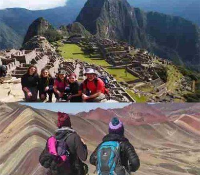 Machu Picchu y Montaña de Siete Colores