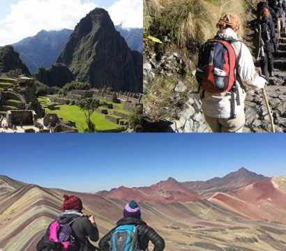 Camino Inca Corto a Machu Picchu y Montaña 7 colores