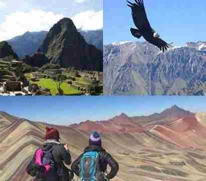 Cusco Maravilloso, Machu Picchu, Montaña 7 Colores, Cañón del Cóndor