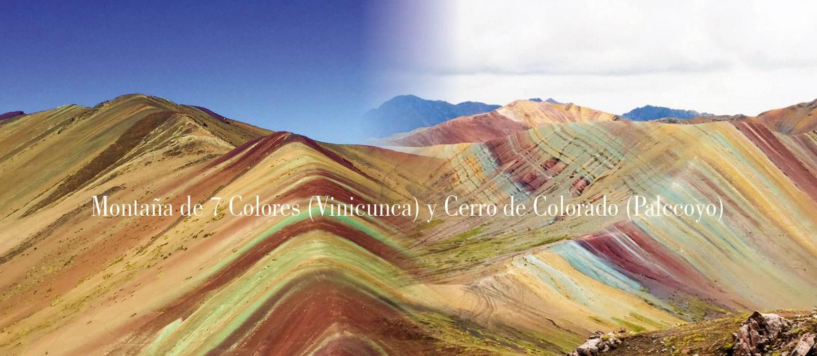 montana 7 Colores y Cerro de Colorado Palccoyo