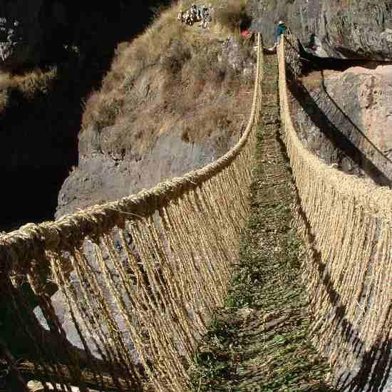 Puente Inca de Queswachaka