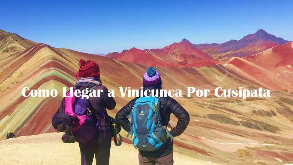 Como llegar a Vinicunca por Cusipata